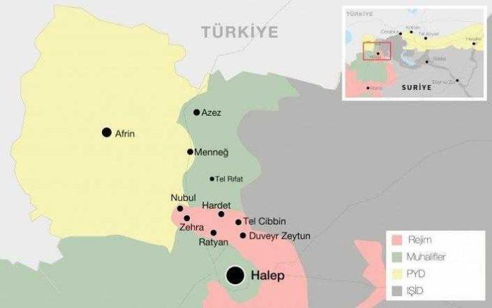 Afrin Nerede? Afrin'in Türkiye İçin Önemi Nedir?