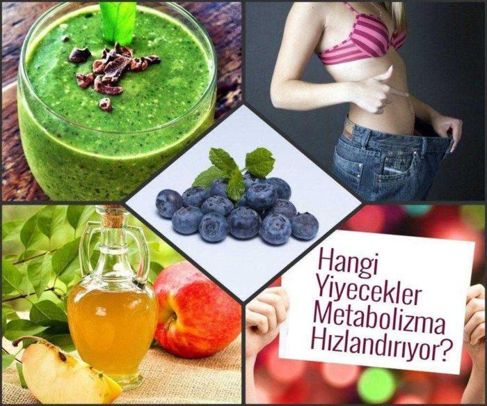 Metabolizmayı Hızlandıran YiyeceklerNelerdir?