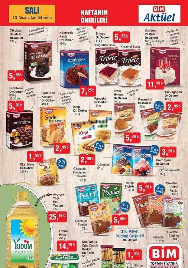 BİM 10 - 12 Nisan Aktüel Ürünler Kataloğu Fırsat Ürünleri Belli Oldu!