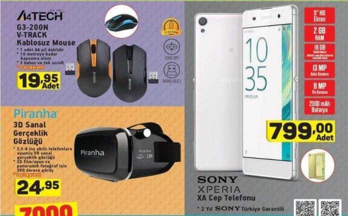 A101 Aktüel Bu Hafta XPERIA XA Cep Telefonu Satışı Yapacak!