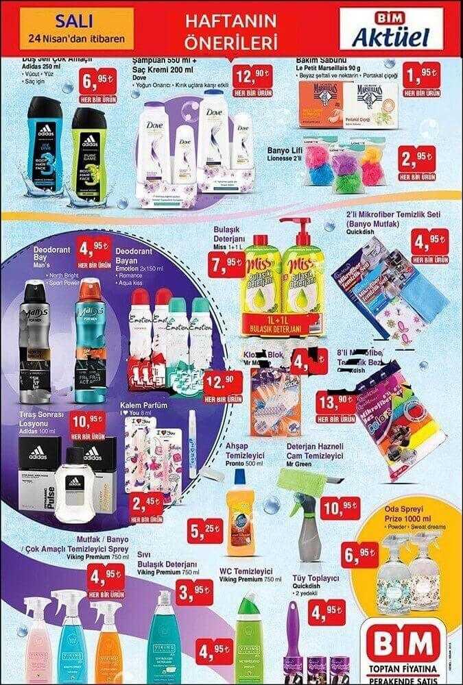 Bim Market 24 Nisan 2018 Aktüel Ürünler Kataloğu Yayınlandı
