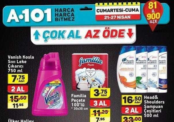 A101 24 - 27 Nisan Aktüel Ürünler Kataloğu Yayınlandı
