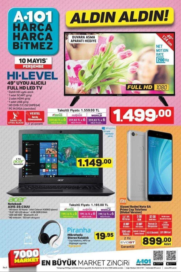 A101'de Xiaomi Redmi Note 5A Prime Fiyatı Ne Kadar?