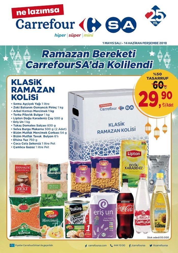 Carrefour Ramazan Erzak Kolileri 2018 Ramazan Ayı İçin Belli Oldu