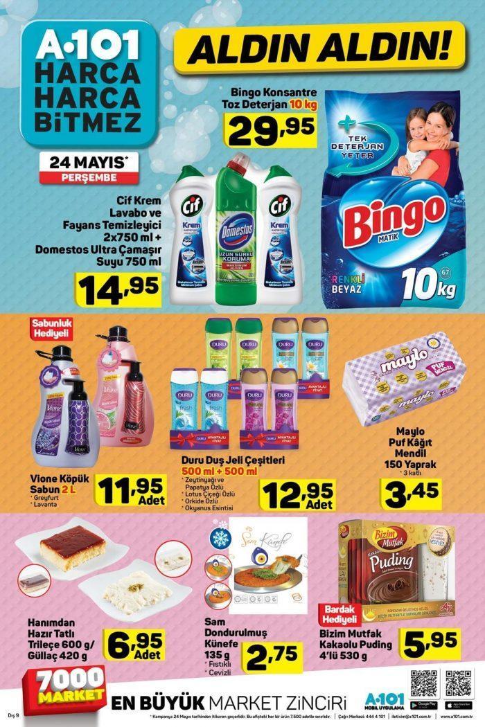 A101 24-30 Mayıs Aktüel Ürünler Kataloğu ile Haftanın İndirimleri