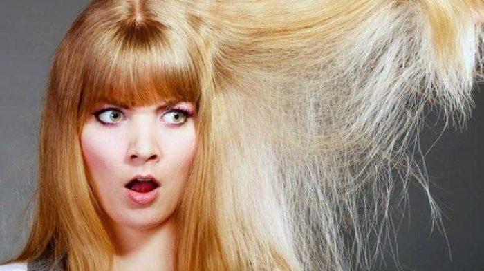 Saçların Elektriklenmesi Nasıl Önlenir?