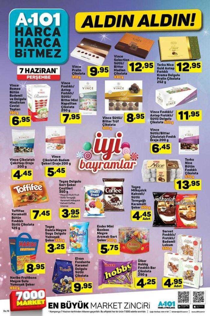 A101 7 Haziran 2018 Aktüel Ürünler Kataloğu Ramazan Bayramına Özel Kampanya