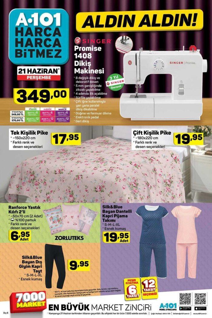 A101 21 Haziran 2018 Aktüel Ürünler Kataloğu Aldın Aldın Kampanyası Yayınlandı