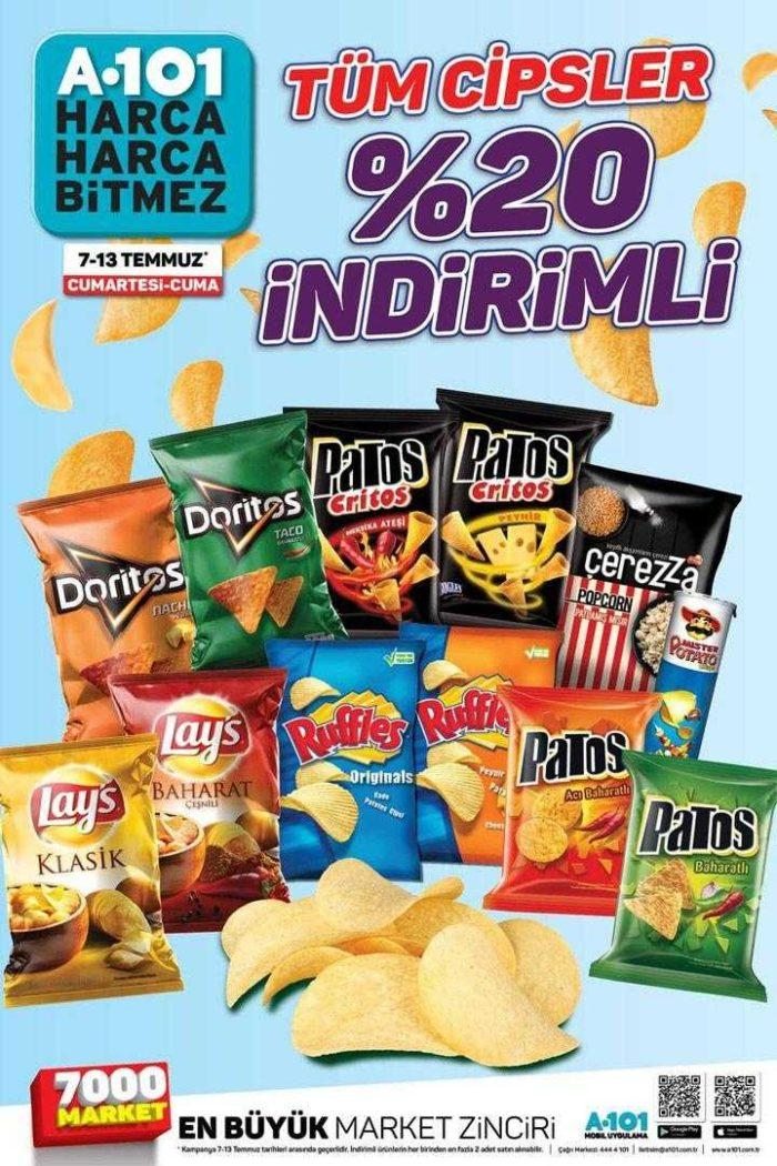 A101 7-13 Temmuz Aktüel Ürünler Kataloğu! A101'de Hafta Sonu Neler İndirimde?