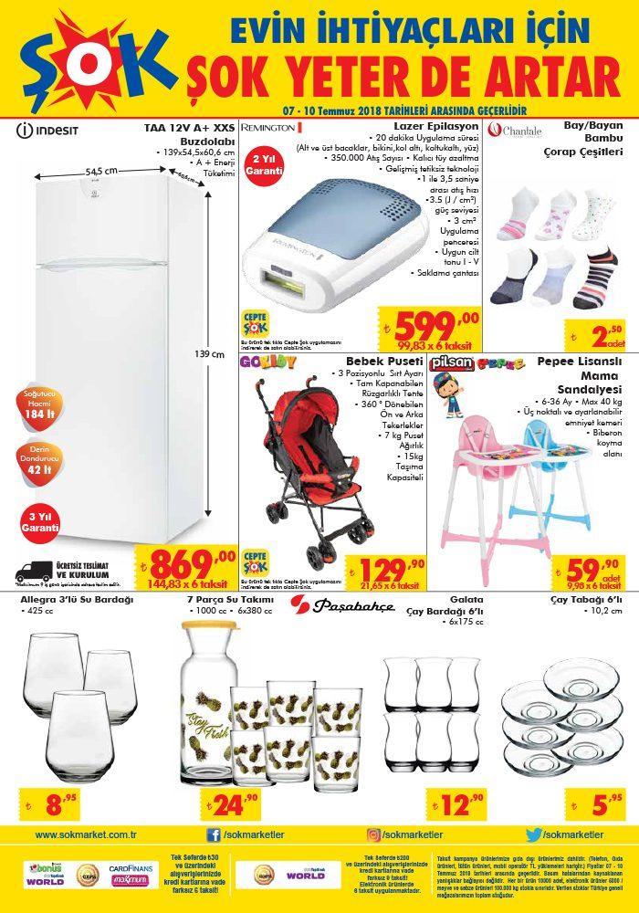Şok Aktüel Kataloğu ile Indesit Marka Buzdolabı Uygun Fiyata Satışa Sunuluyor
