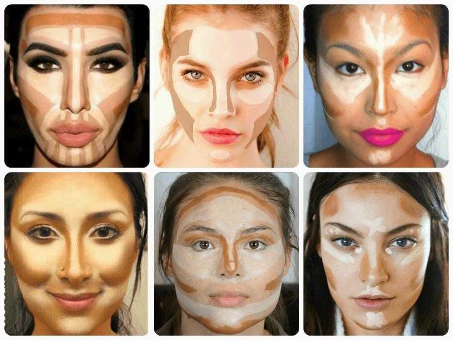 Yüz Şekline Göre Makyaj Teknikleri