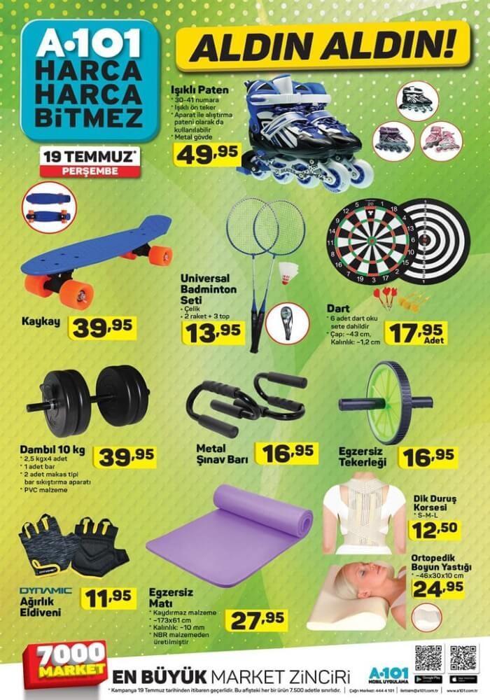 A101 19 Temmuz 2018 Aktüel Ürünler Kataloğu Bu Haftanın Özel Kampanyası
