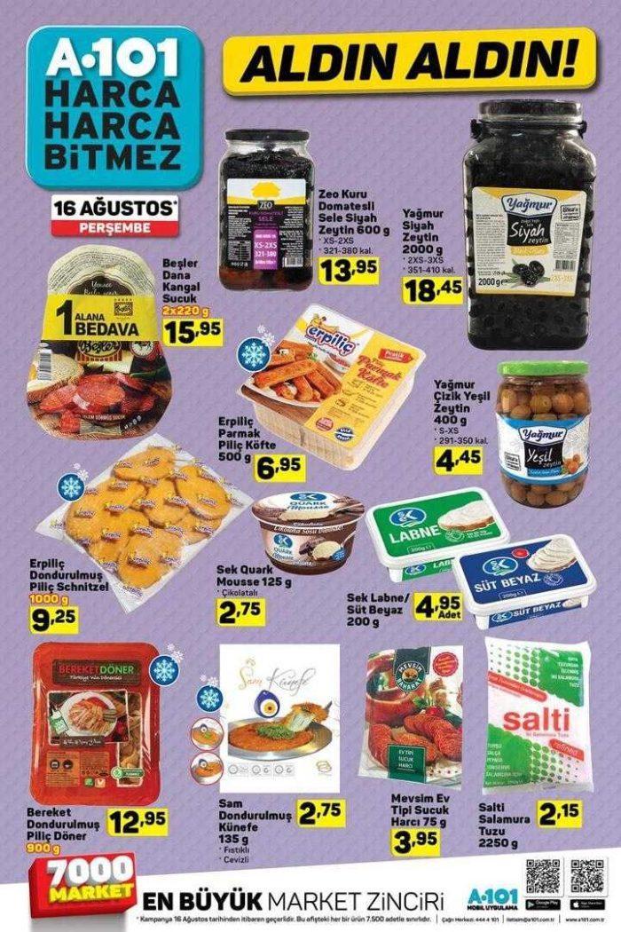 A101 16-21 Ağustos 2018 Kurban Bayramı Özel Aktüel Ürünler Kataloğu