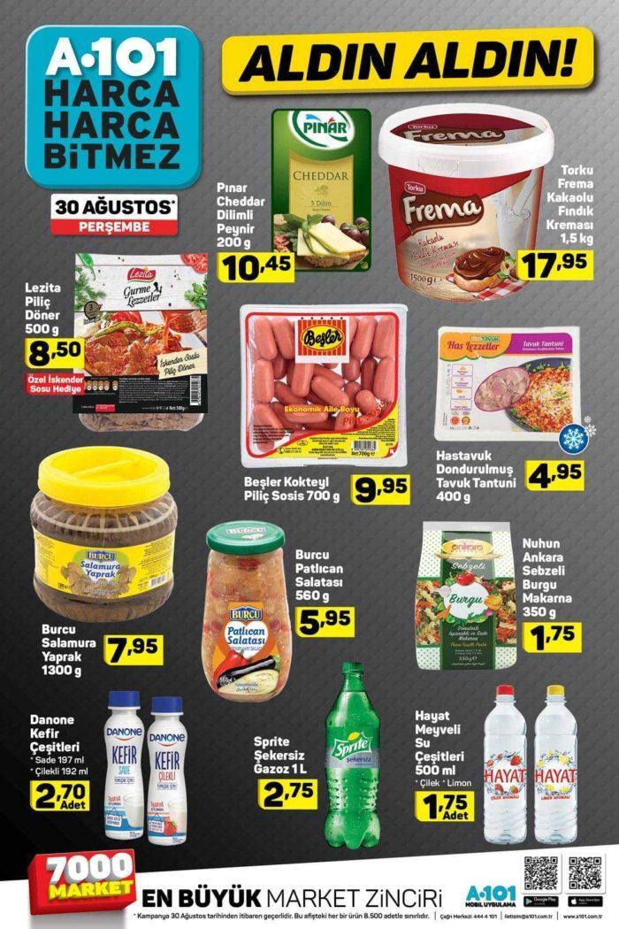 A101 30 Ağustos Aktüel Ürünler Kataloğu İndirim Fırsatları Yayınlandı