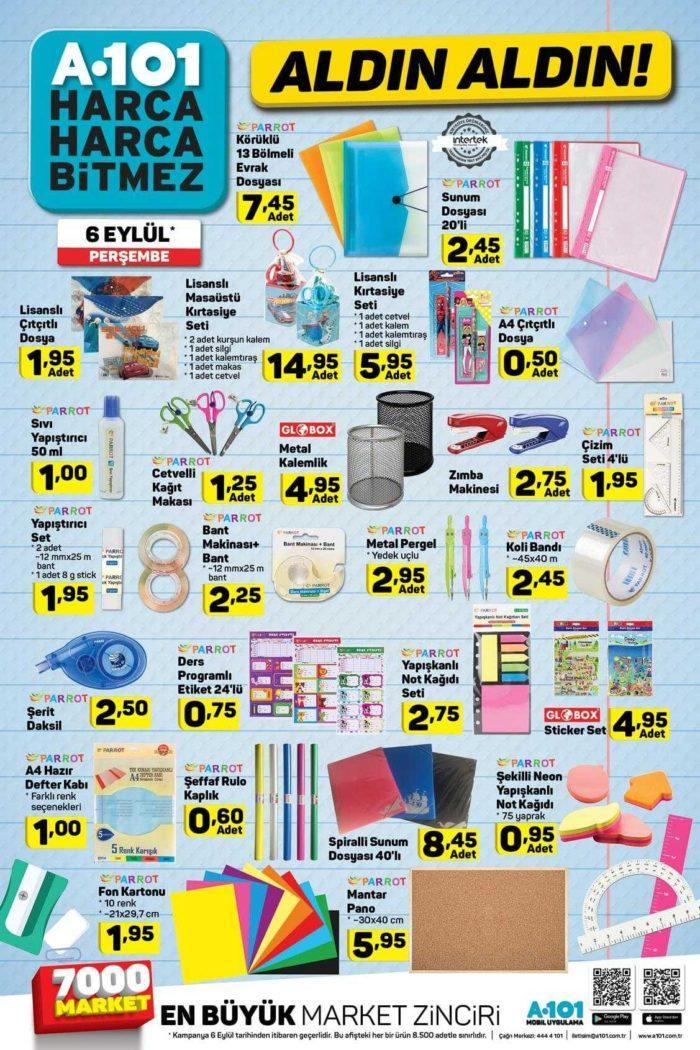 A101 6 Eylül 2018 Aktüel Ürünler Kataloğu Dolu Dolu Yayınlandı