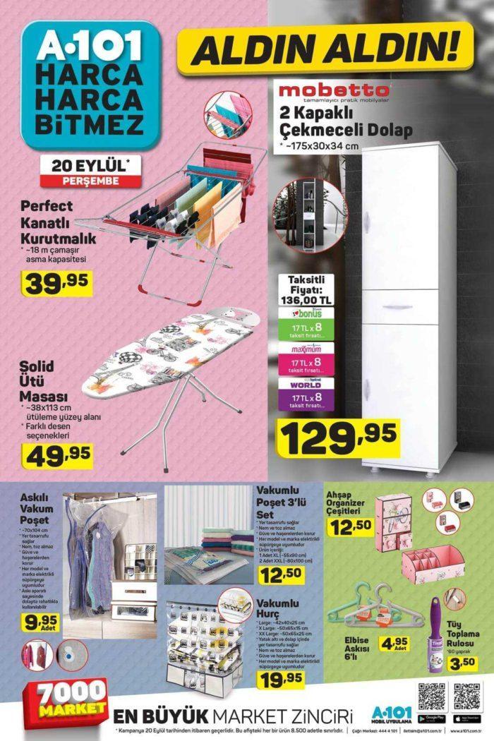 A101 20 Eylül 2018 Aktüel Ürünler Kataloğu Yayınlandı