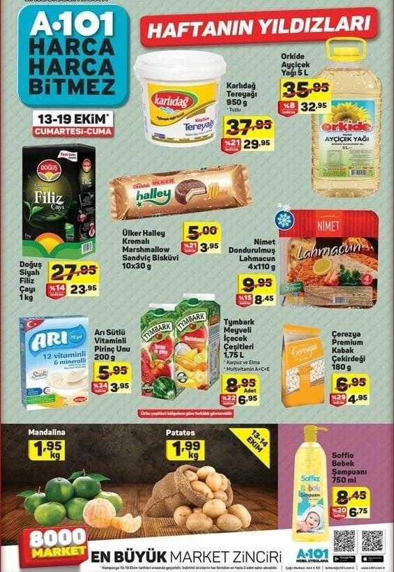Bu Hafta Sonu A101 Markete Neler Gelecek? A101 13 Ekim Aktüel Ürünler Kataloğu