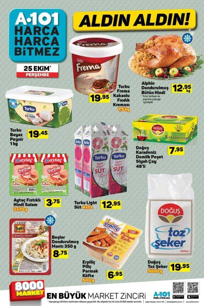 A101 25 Ekim - 1 Kasım Aktüel Ürünler Kataloğunda Sürpriz Fırsatlar! Bu Hafta A101 Aktüel Ürünler Kataloğunda Neler İndirimde?