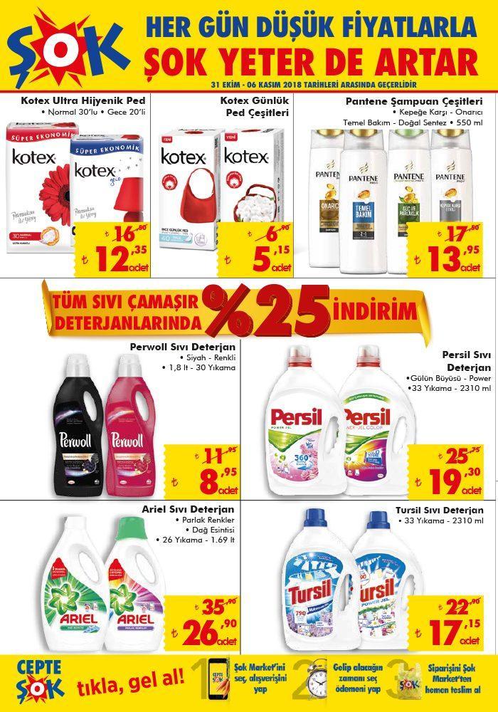 Şok (31 Ekim - 6 Kasım) Aktüel Ürünler Kataloğu ile Yeni İndirimler Belli Oldu! Şok Market Haftanın Aktüel İndirimleri