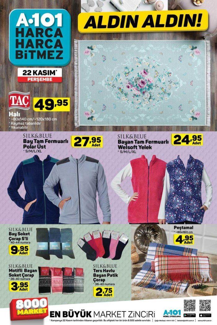 A101 22 Kasım 2018 Aktüel Ürünler Kataloğu Yayınlandı
