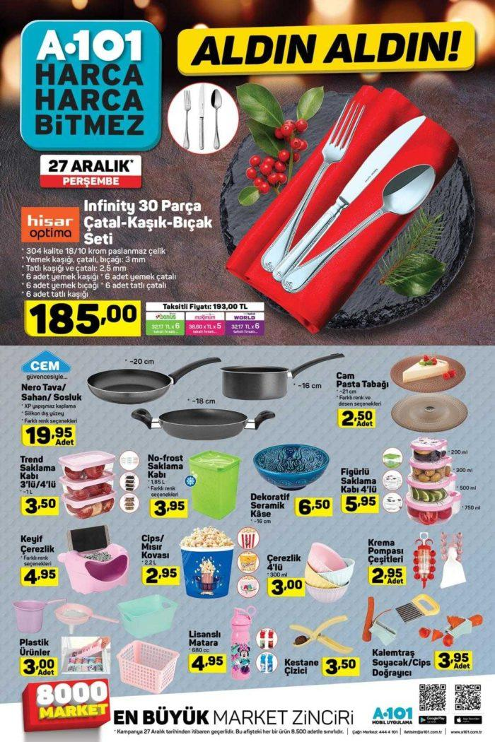 A101 Aktüel 27 Aralık - 2 Ocak 2018 Kataloğu! Bu Hafta A101'de Bomba Gibi Ürünler Var!