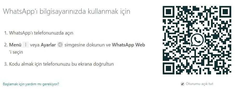Whatsapp Web Nedir? Whatsapp Web Giriş Nasıl Yapılır