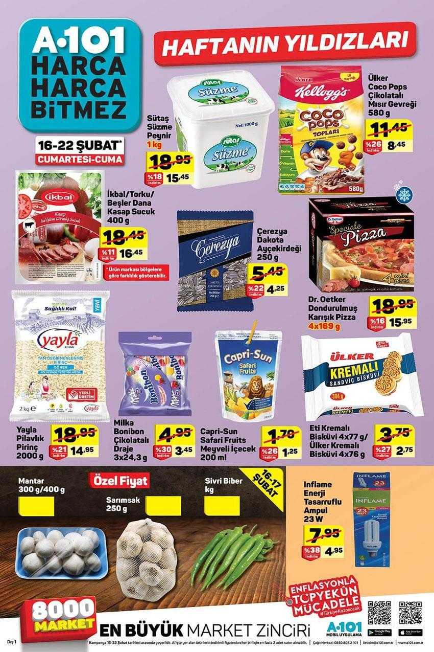 A101 16 Şubat 2019 Aktüel Ürünler Kataloğu! A101 Market Hafta Sonu İndirimleri