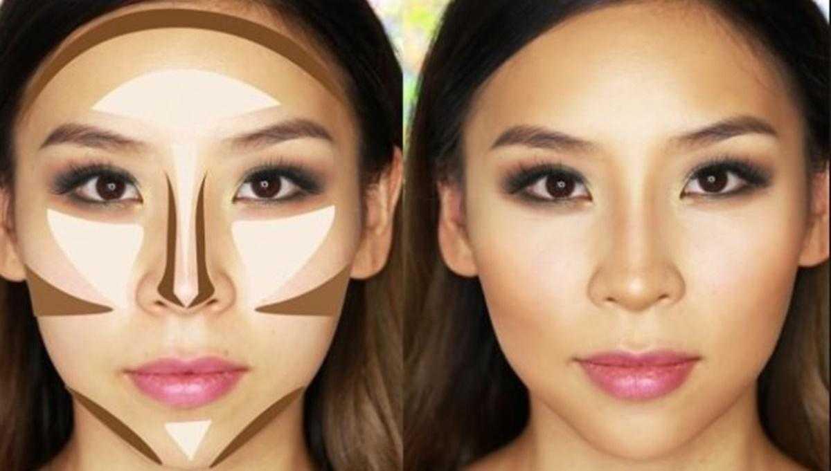 Yüzü Daha İnce Göstermek İçin Kontür Nasıl Yapılır?