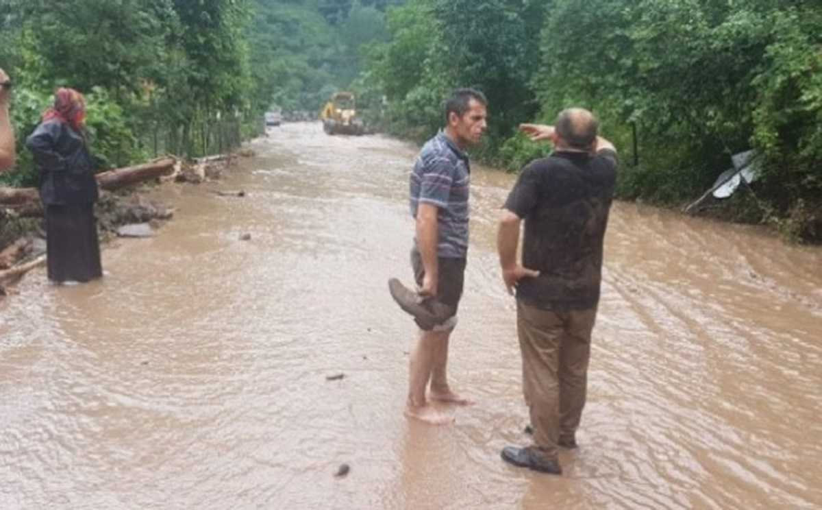 Araklı'da Sağanak Yağış Sonrası Santral Borusu Patladı, 2 Ölü 5 Kayıp