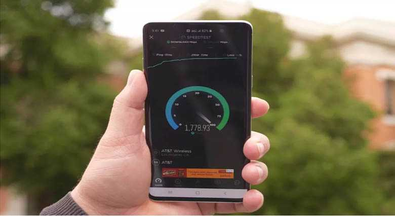 AT&T Şirketi 5G Hız Testini Hollywood'da Gerçekleştirdi