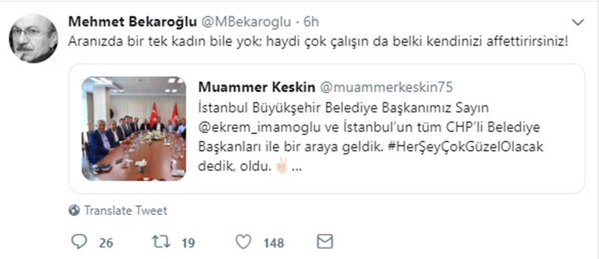 CHP'li Milletvekilinden İBB Başkanı İmamoğlu'nun CHP'li Belediye Başkanlarıyla Yaptığı Toplantıya Eleştiri