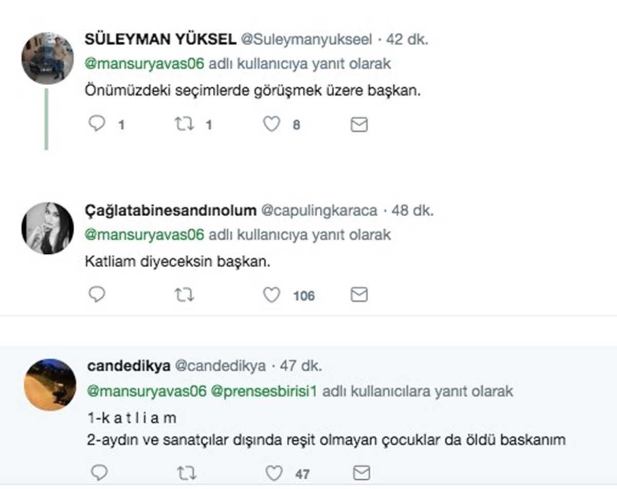 CHP'li Büyükşehir Belediye Başkanları İmamoğluileYavaş'ın Madımak Paylaşımlarına Sosyal Medyada Tepki Yağdı