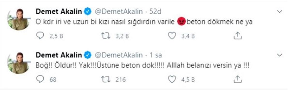 Demet Akalın'ın Pınar Gültekin paylaşımına tepkiler çığ gibi büyüdü