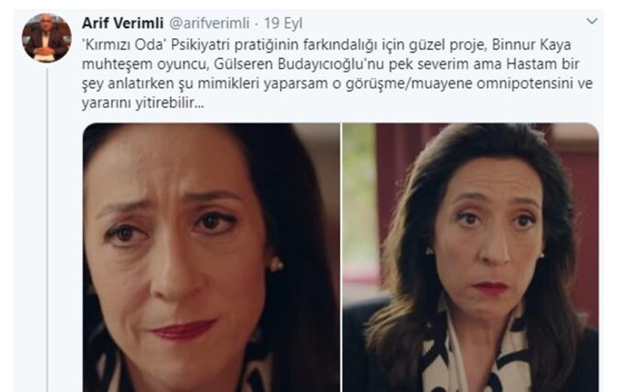 Müge Anlı'daki Psikiyatrist Arif Verimli büyük ses getiren Kırmızı Oda dizisini yorumladı